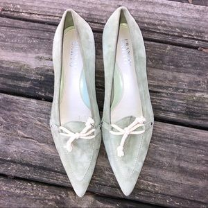 Franco Sarto Green shoes size 9M